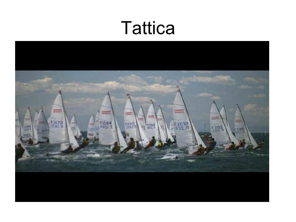 Tattica … è la realizzazione concreta della regata, basata sulla situazione di fatto in cui ci si trova in ogni momento anche rispetto agli avversari.