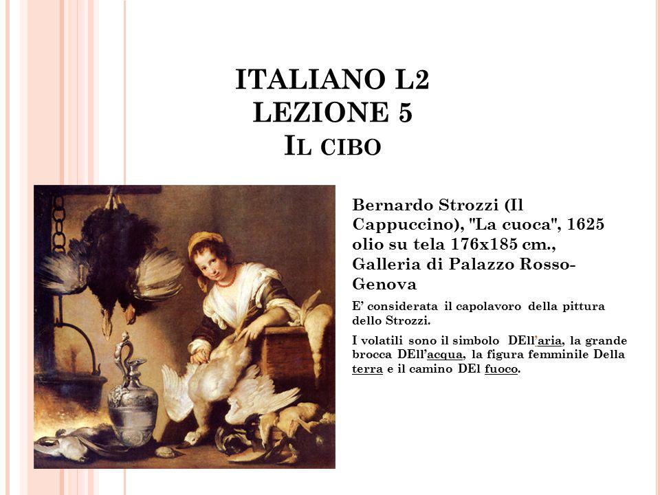 ITALIANO L2 LEZIONE 5 Il cibo