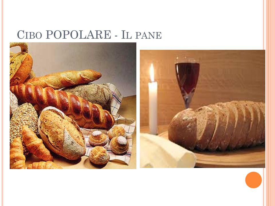 Cibo POPOLARE - Il pane