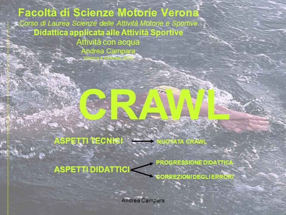 CRAWL Facoltà di Scienze Motorie Verona