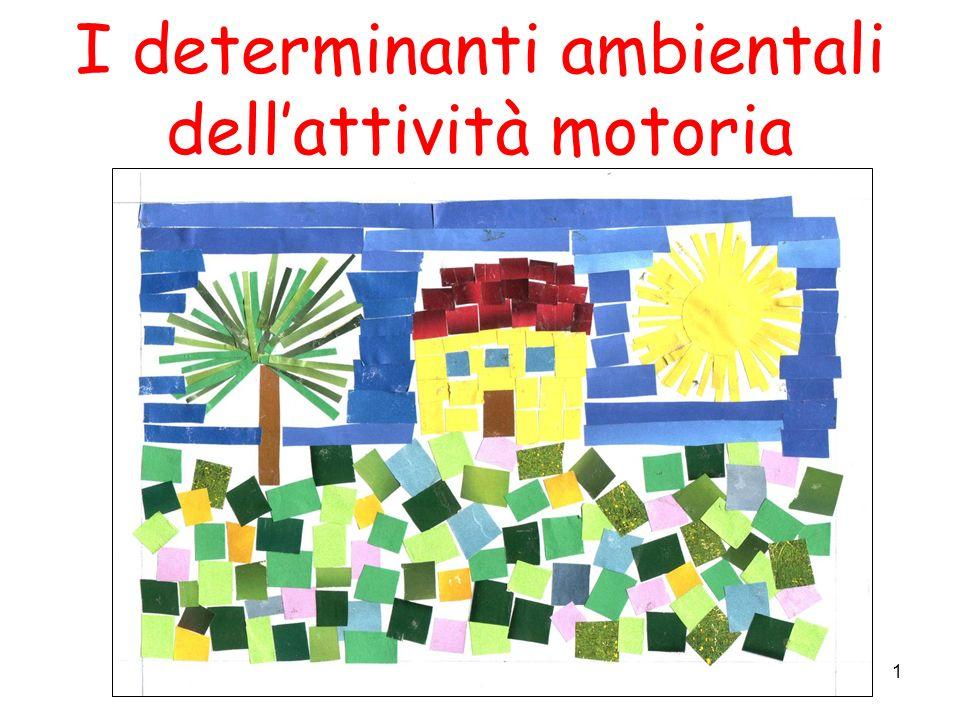 I determinanti ambientali dell'attività motoria