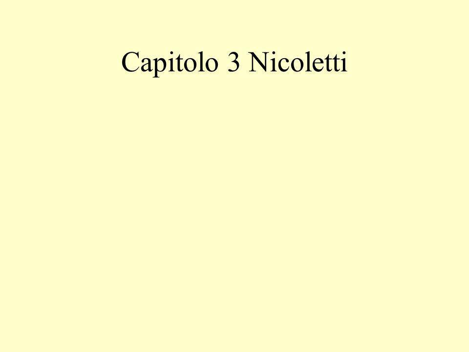 Capitolo 3 Nicoletti