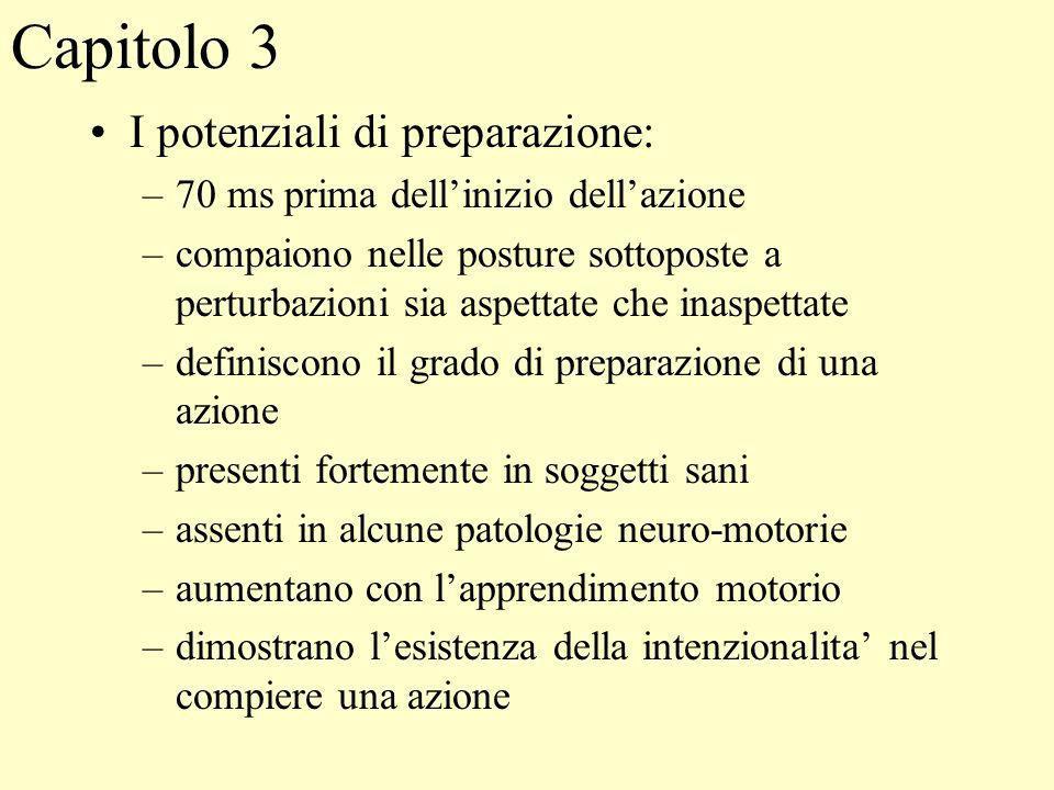 Capitolo 3 I potenziali di preparazione: