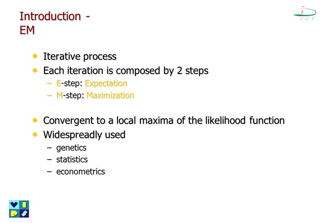 Introduction - EM Iterative process