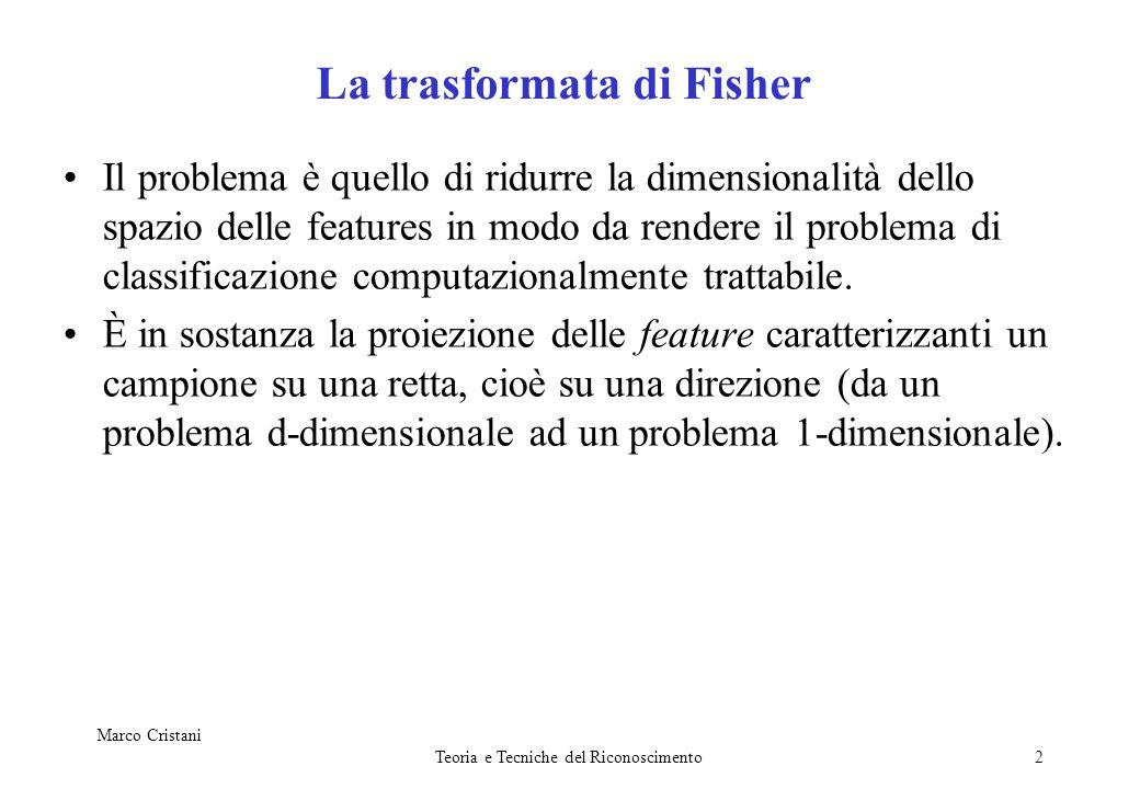 La trasformata di Fisher