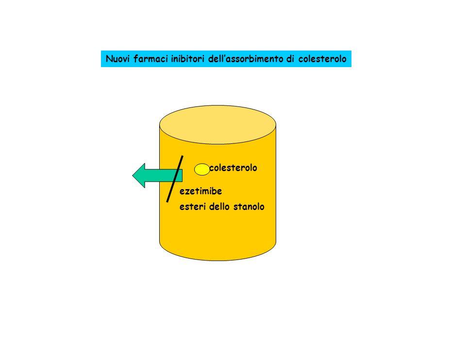 Nuovi farmaci inibitori dell'assorbimento di colesterolo