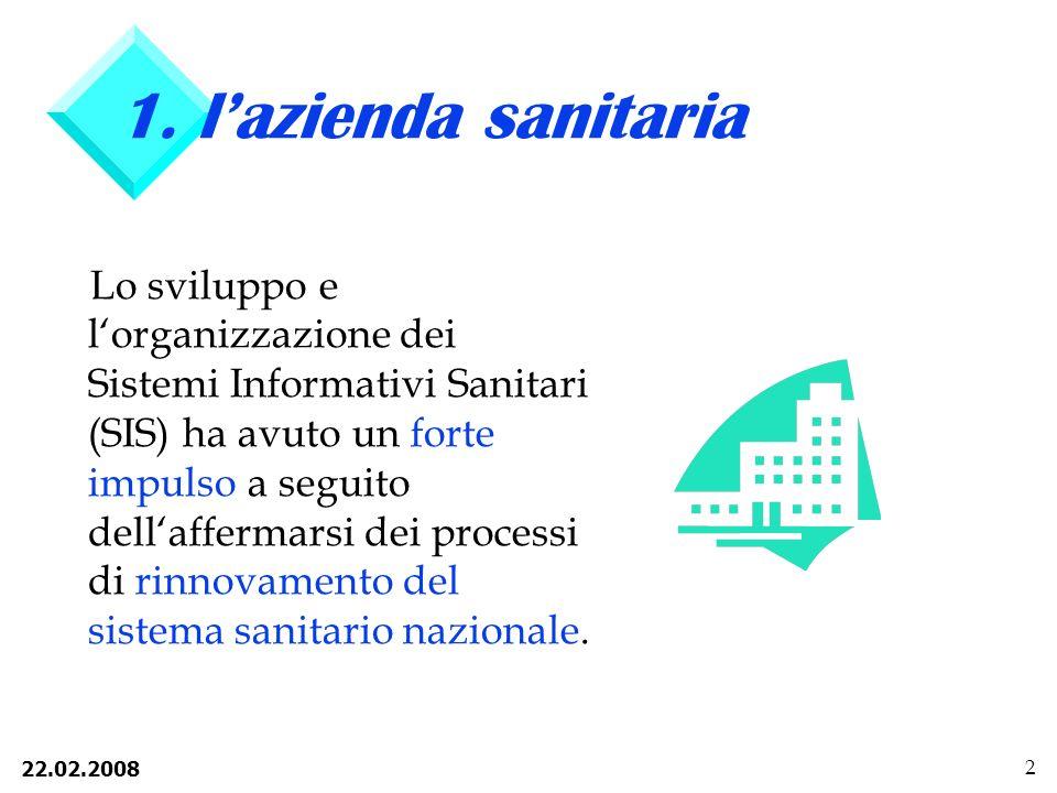 1. l'azienda sanitaria