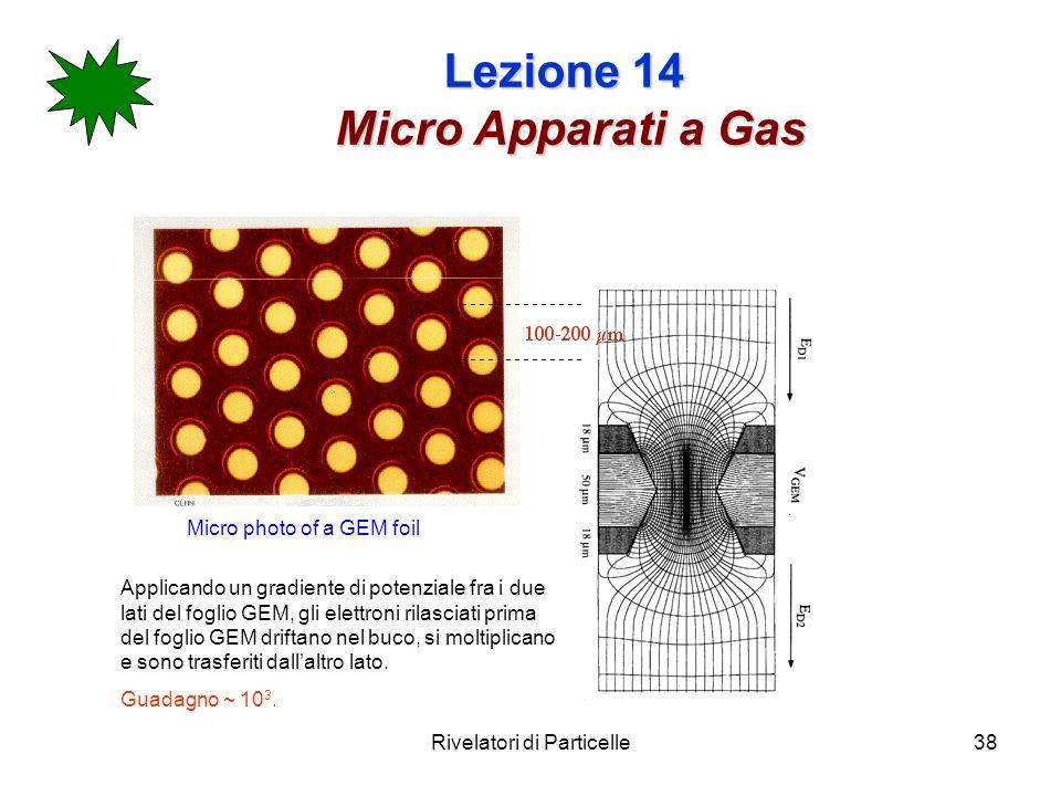 Lezione 14 Micro Apparati a Gas