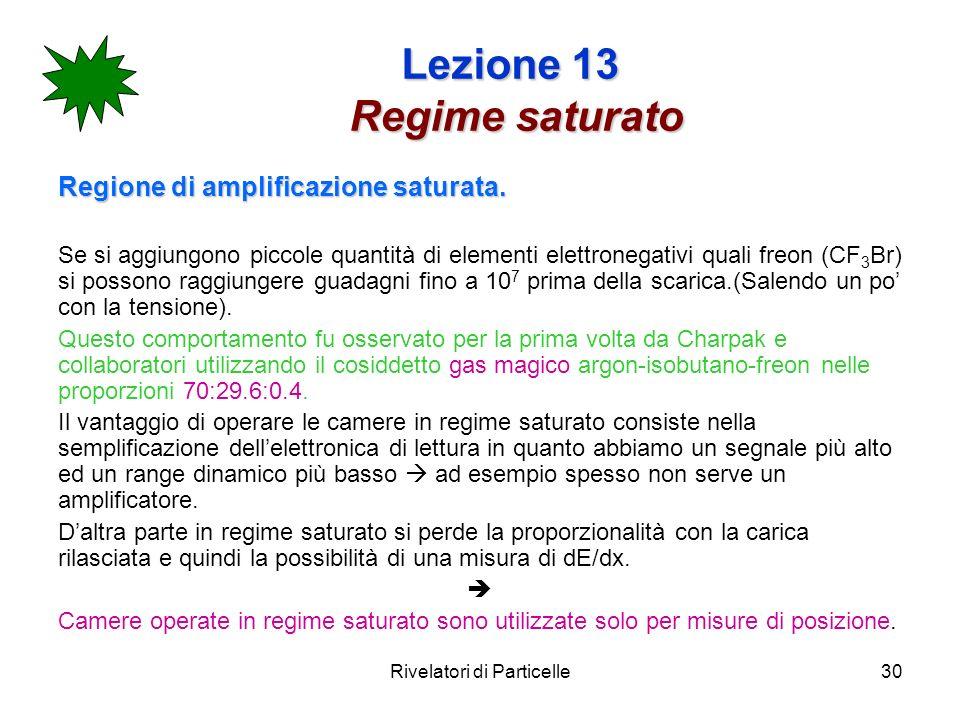 Lezione 13 Regime saturato