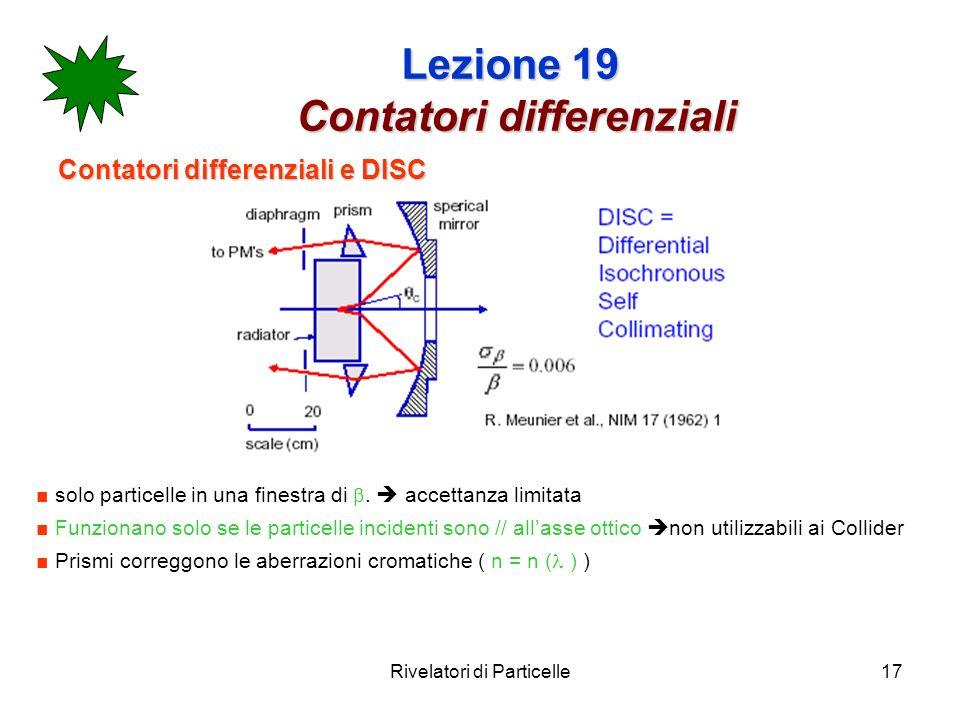 Lezione 19 Contatori differenziali