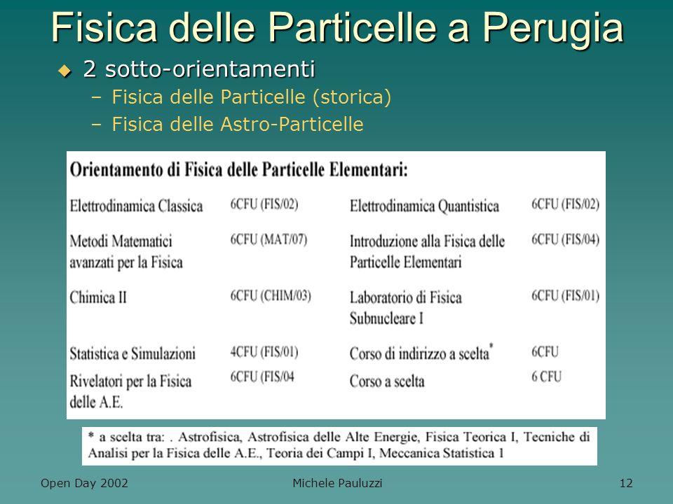 Fisica delle Particelle a Perugia