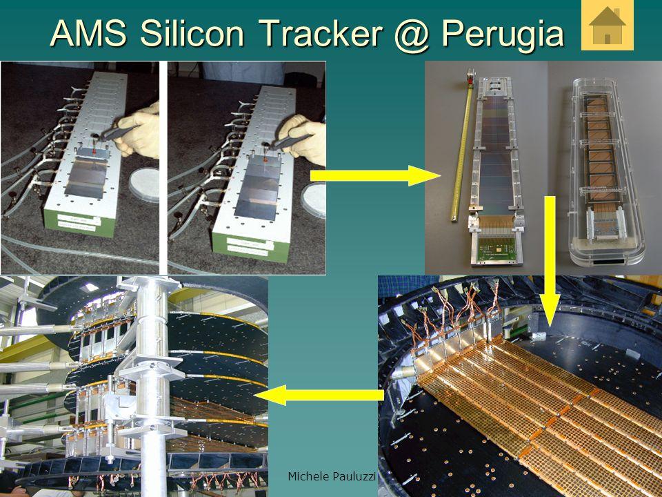 AMS Silicon Tracker @ Perugia