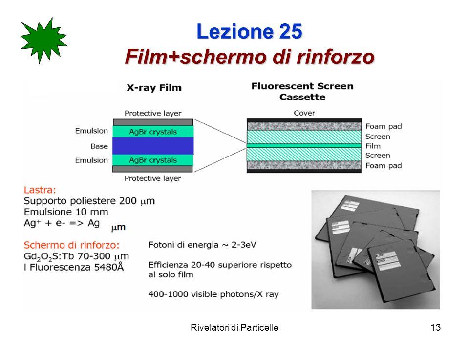 Lezione 25 Film+schermo di rinforzo