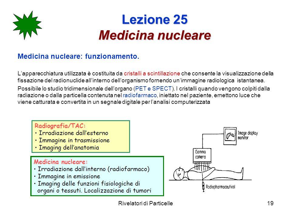 Lezione 25 Medicina nucleare