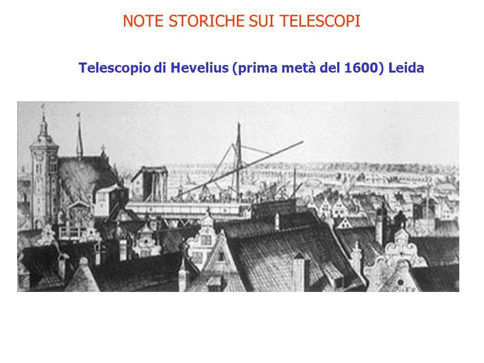 NOTE STORICHE SUI TELESCOPI