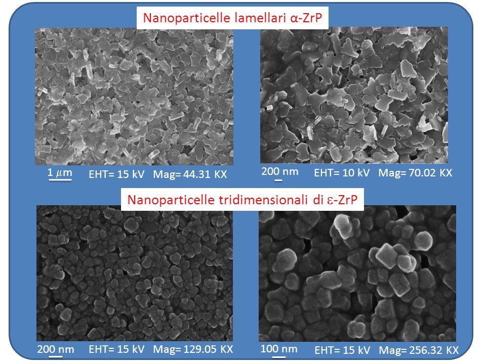 Nanoparticelle lamellari α-ZrP
