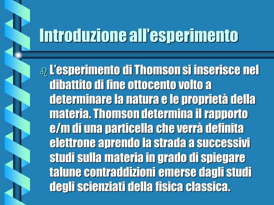 Introduzione all'esperimento