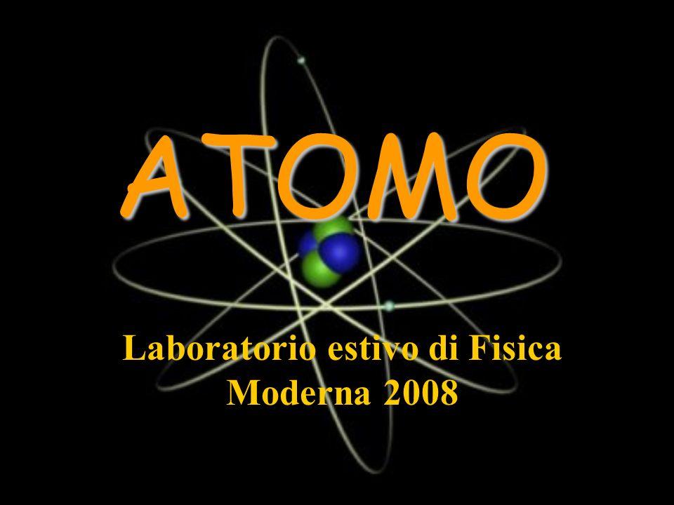 Laboratorio estivo di Fisica Moderna 2008