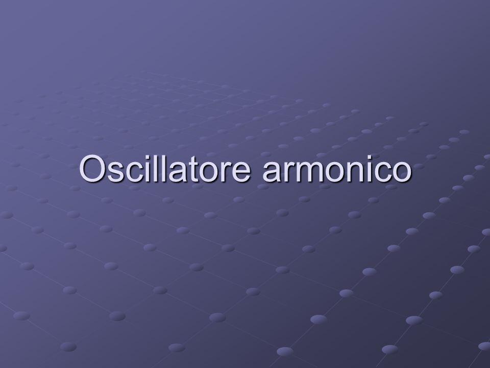 Oscillatore armonico