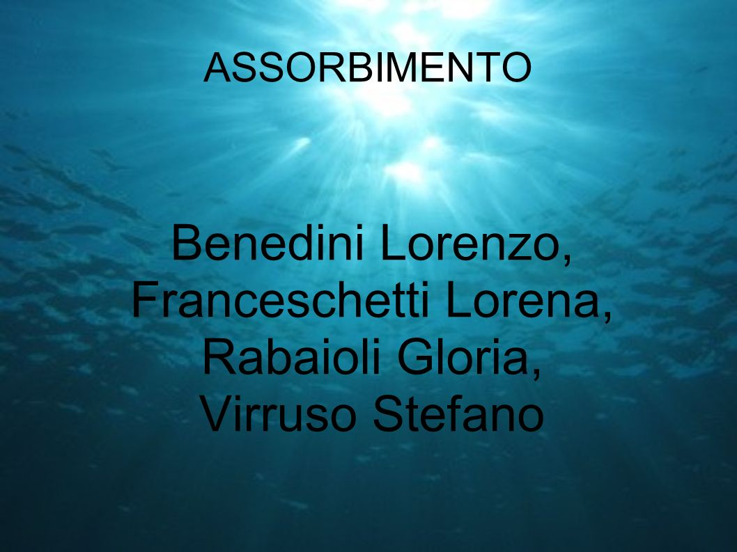 Benedini Lorenzo, Franceschetti Lorena, Rabaioli Gloria,