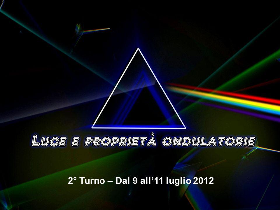2° Turno – Dal 9 all'11 luglio 2012