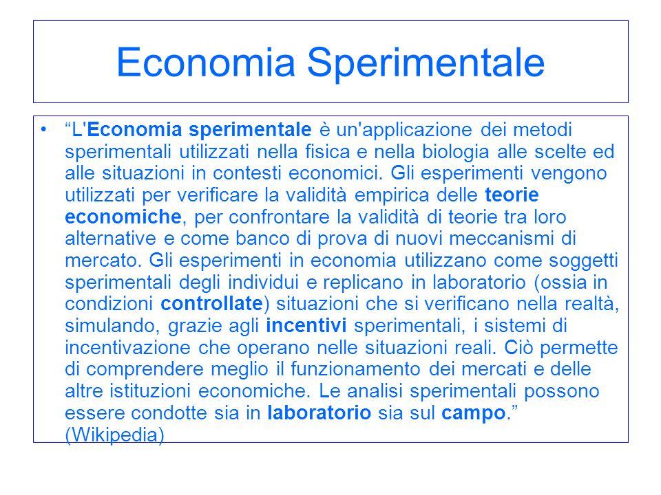 Economia Sperimentale
