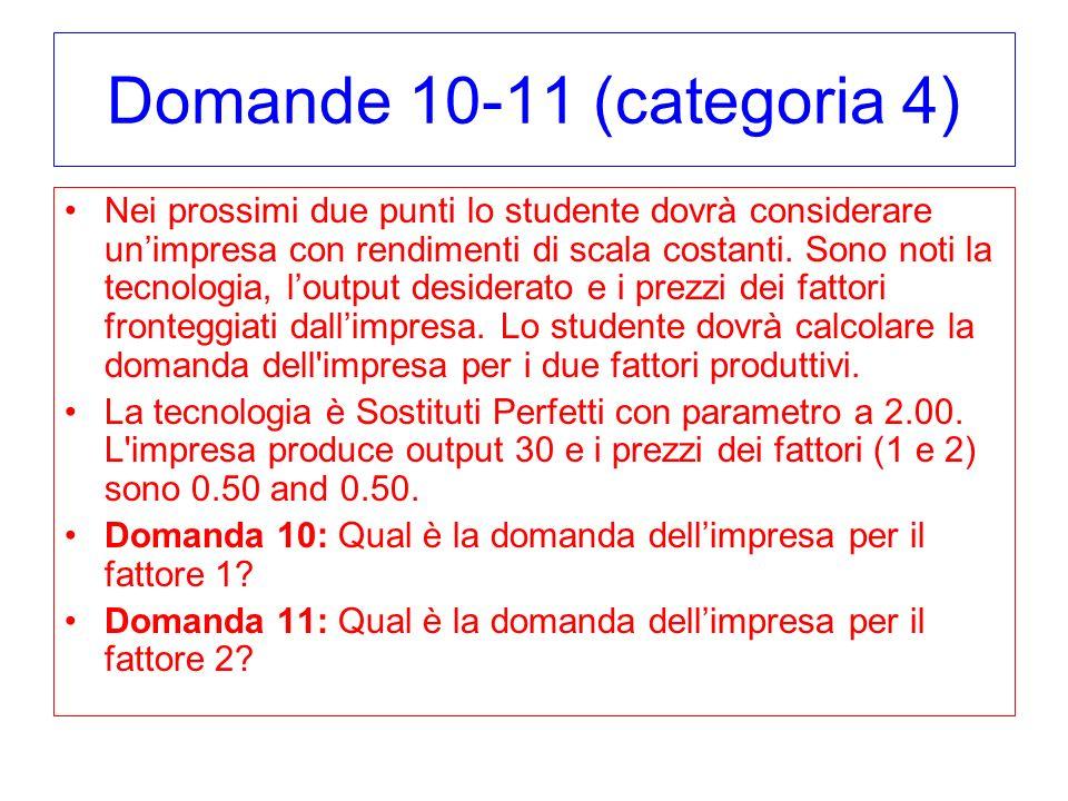 Domande 10-11 (categoria 4)