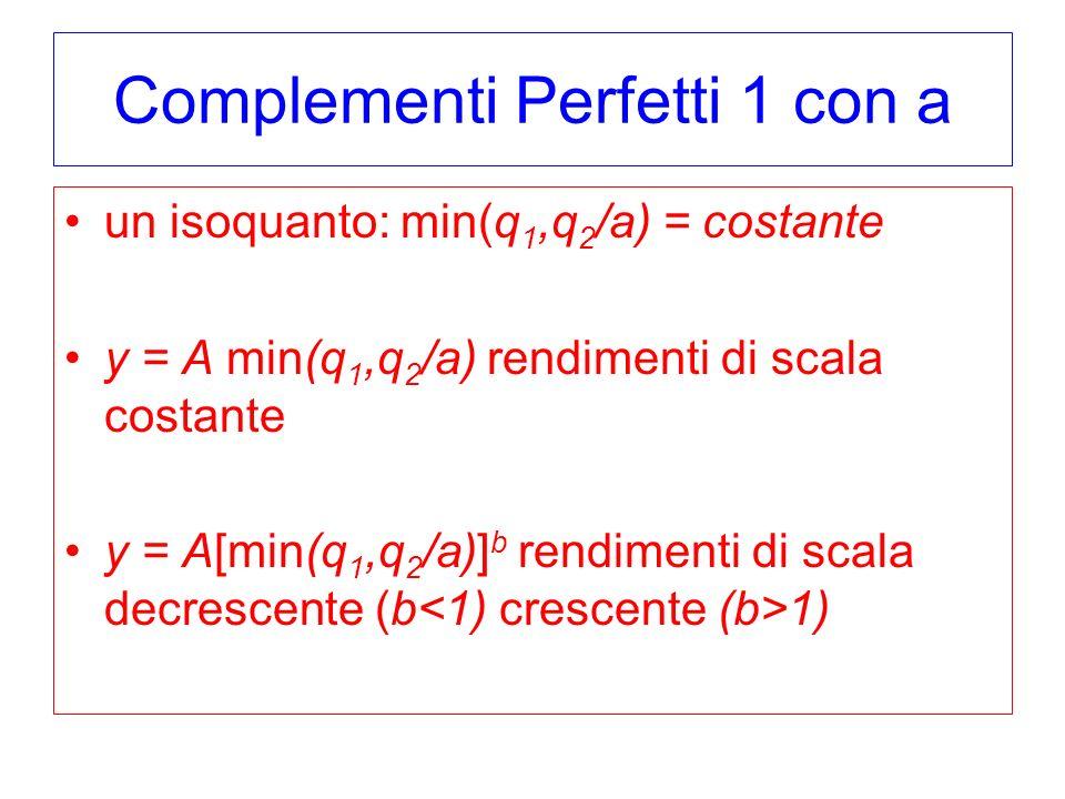 Complementi Perfetti 1 con a