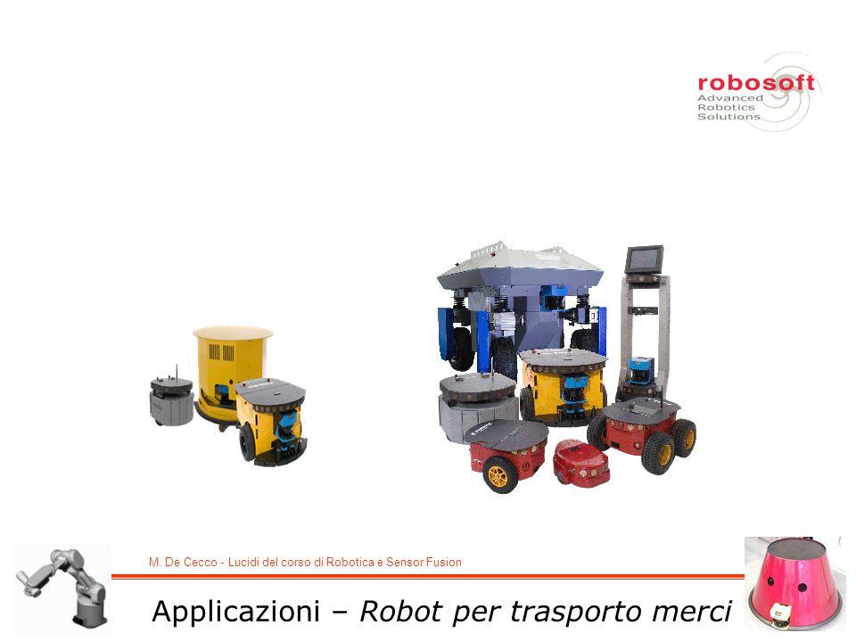 Applicazioni – Robot per trasporto merci