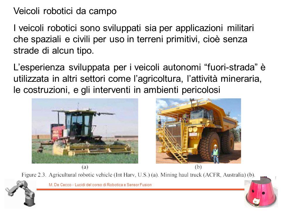 Veicoli robotici da campo