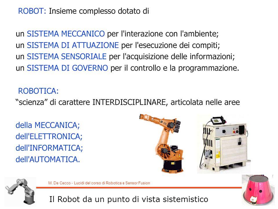Il Robot da un punto di vista sistemistico