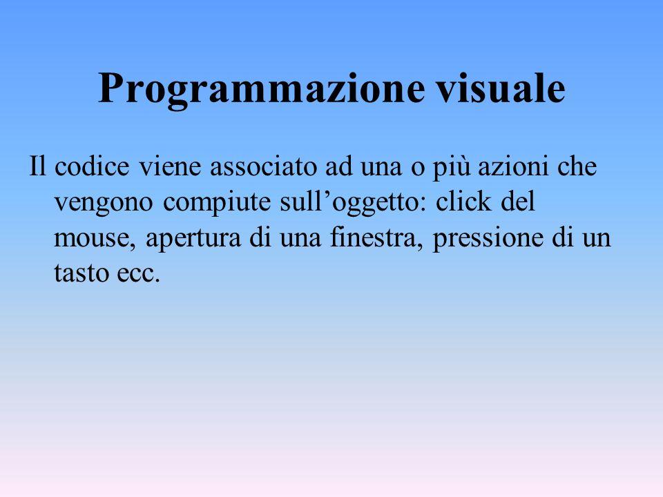 Programmazione visuale