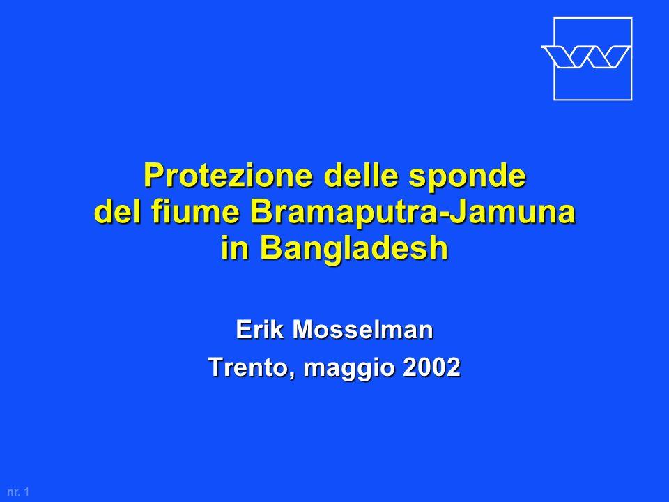 Protezione delle sponde del fiume Bramaputra-Jamuna in Bangladesh