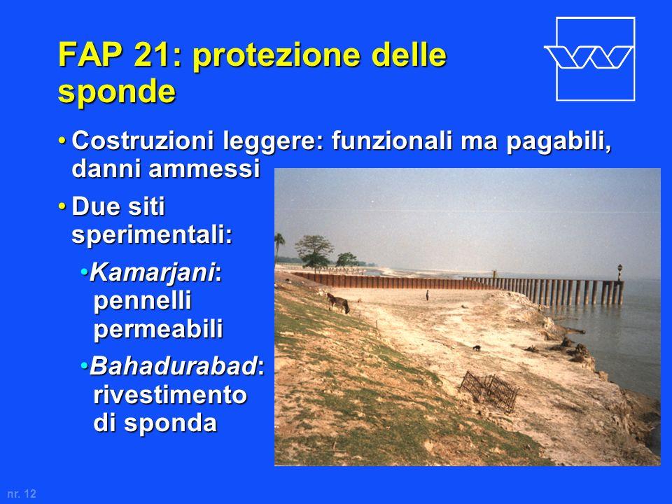 FAP 21: protezione delle sponde