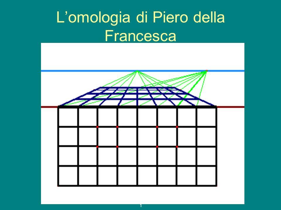 L'omologia di Piero della Francesca