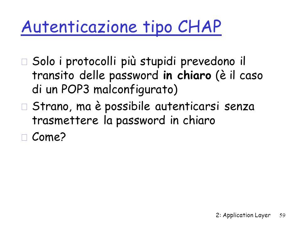 Autenticazione tipo CHAP