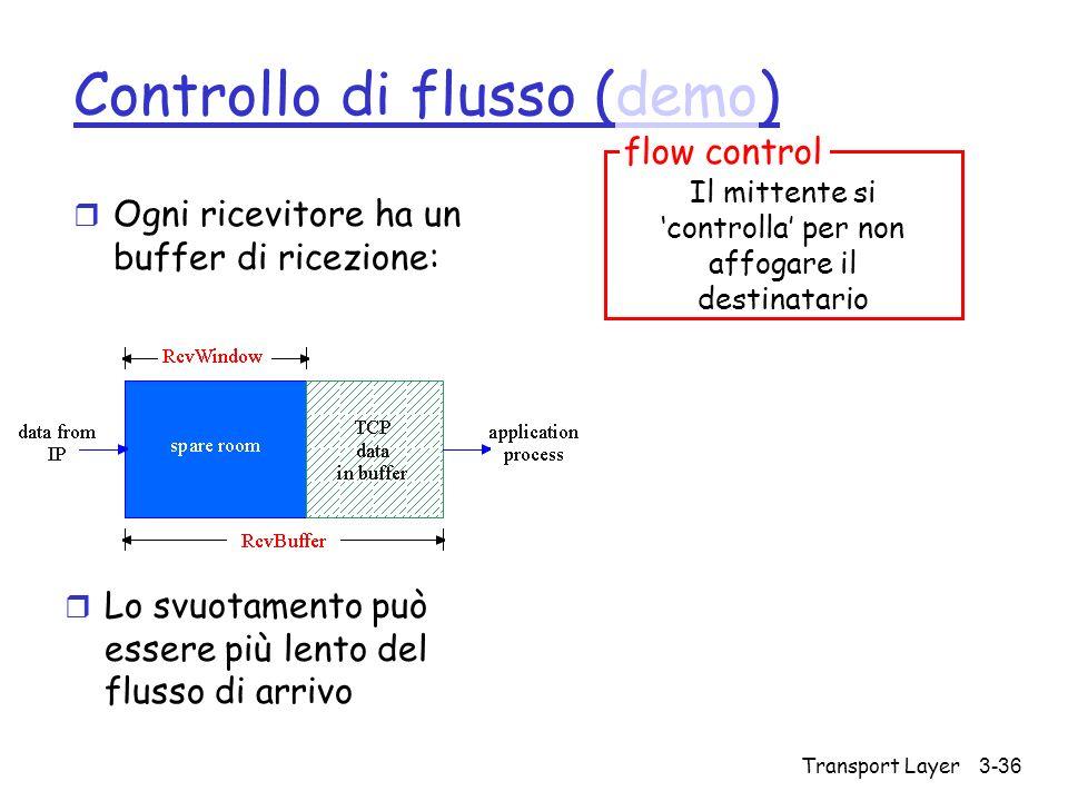 Controllo di flusso (demo)