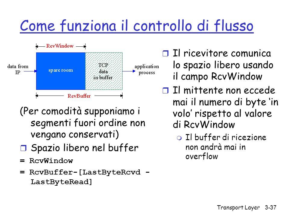 Come funziona il controllo di flusso