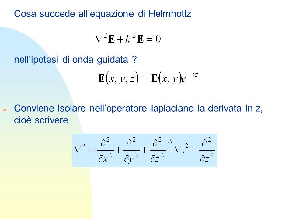 Cosa succede all'equazione di Helmhotlz