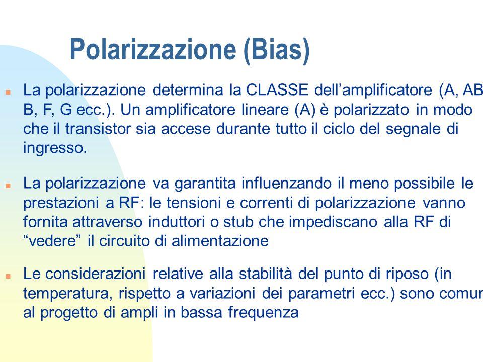 Polarizzazione (Bias)