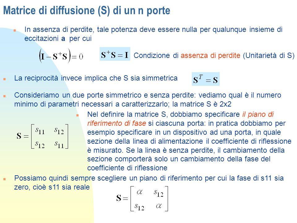 Matrice di diffusione (S) di un n porte