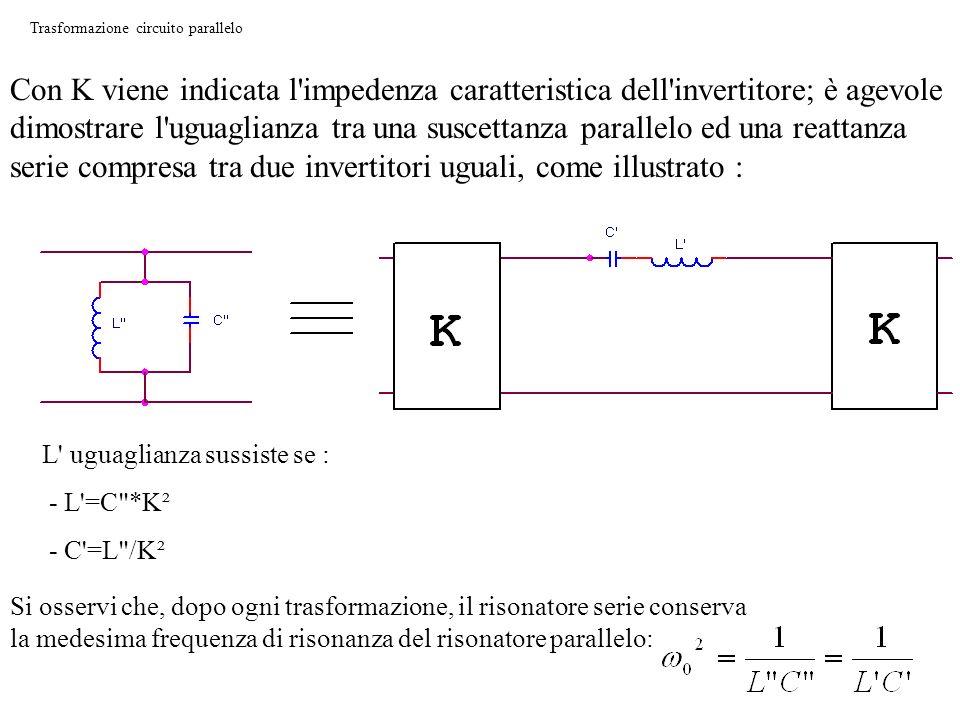Trasformazione circuito parallelo