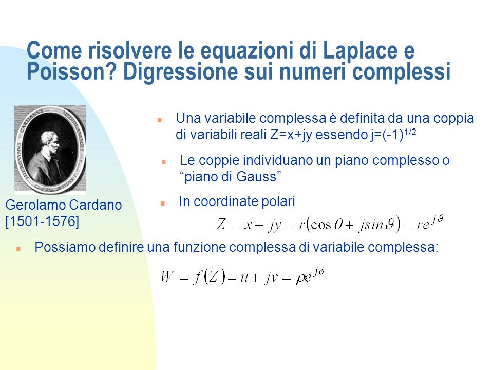 Come risolvere le equazioni di Laplace e Poisson