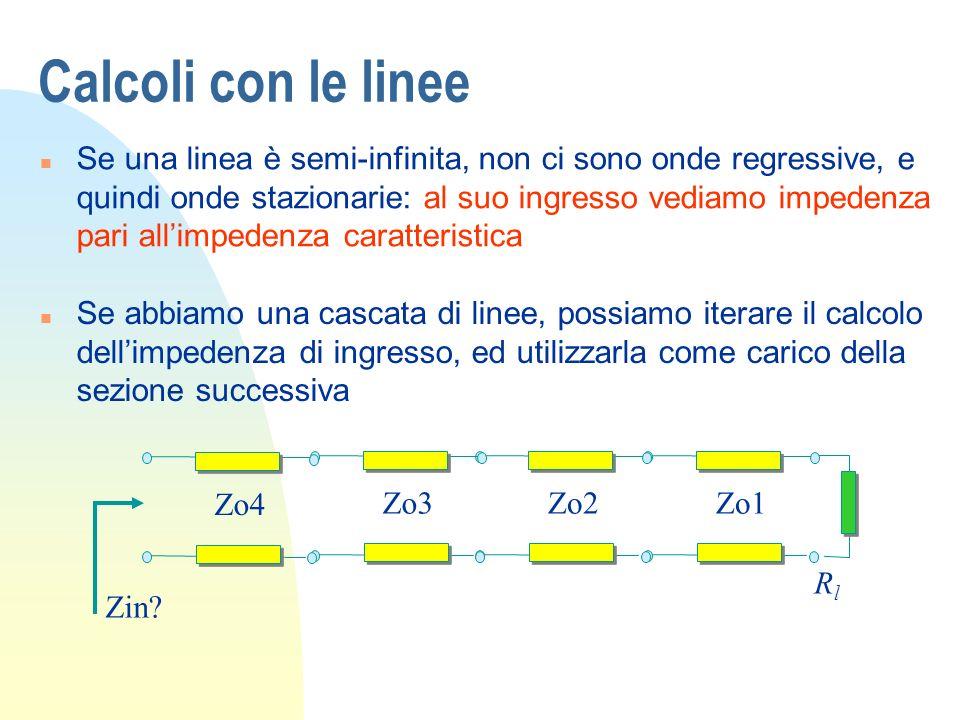Calcoli con le linee