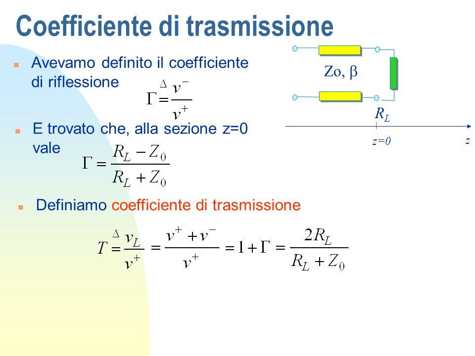 Coefficiente di trasmissione