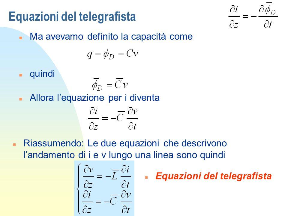 Equazioni del telegrafista