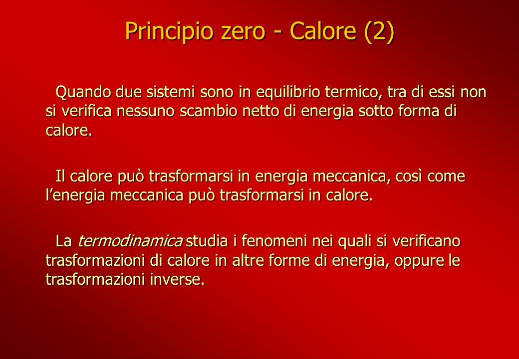 Principio zero - Calore (2)
