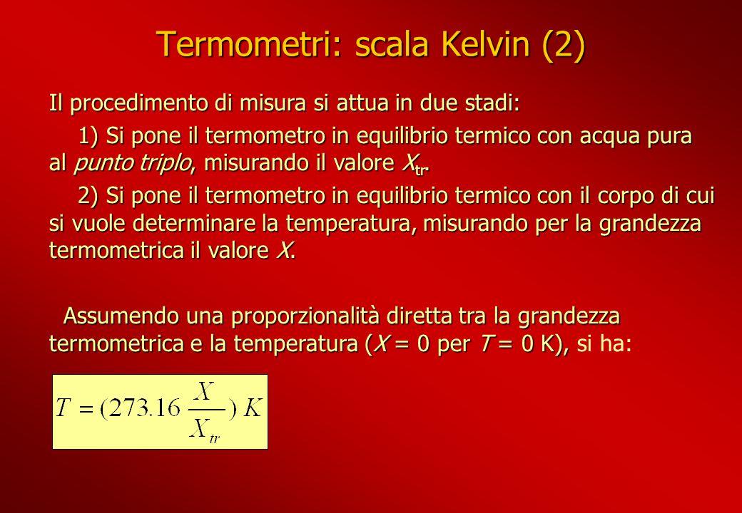 Termometri: scala Kelvin (2)