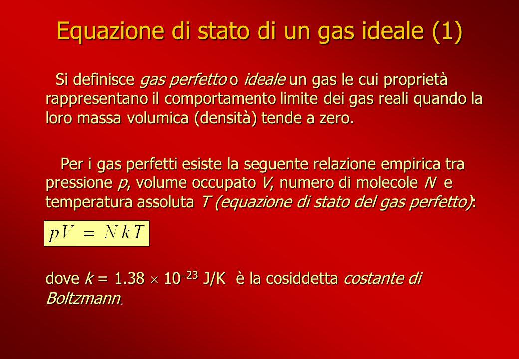Equazione di stato di un gas ideale (1)