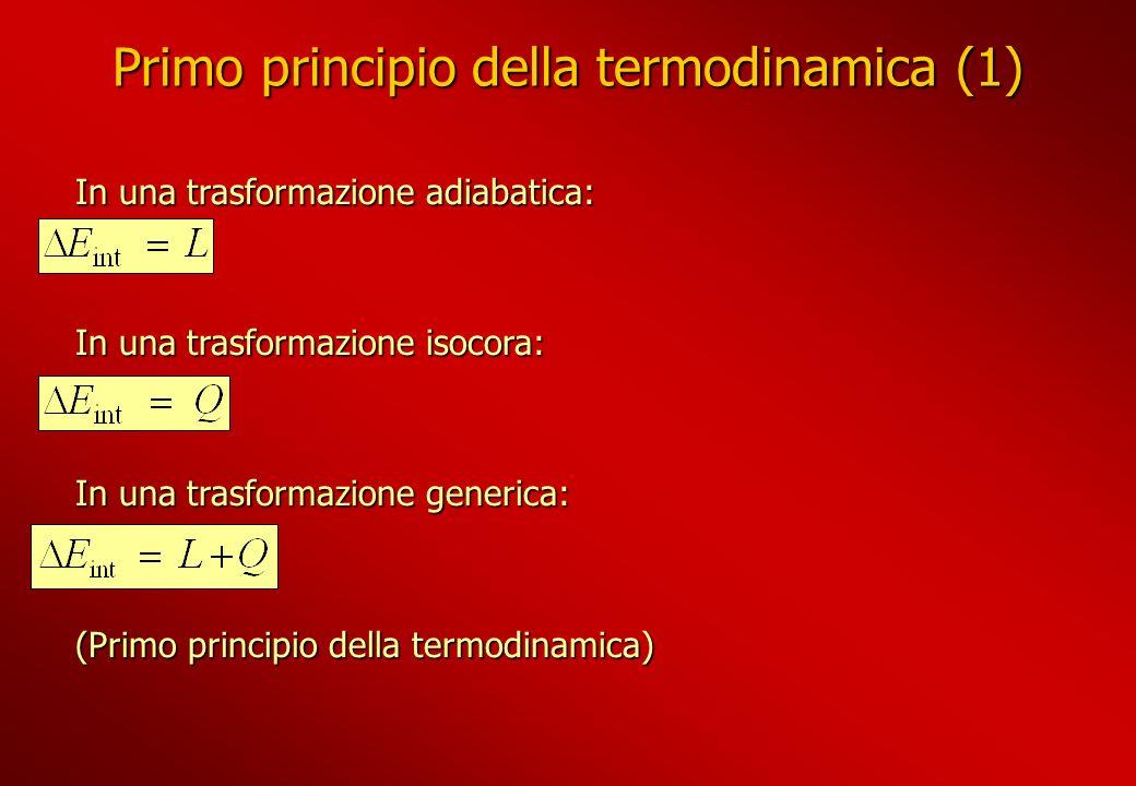 Primo principio della termodinamica (1)